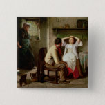 Jealousy and Flirtation 15 Cm Square Badge