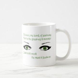 Jealousy Basic White Mug