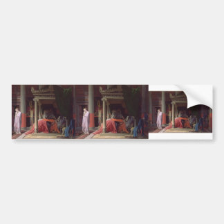 Jean Auguste Ingres- Antiochus and Stratonice Bumper Sticker