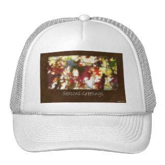 Jean Autumn Leaves 12 Seasons Greetings Cap
