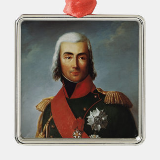 Jean-Baptiste Bessieres  Duke of Istria Silver-Colored Square Decoration