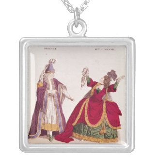 Jean-Baptiste Brizard  in the role of Joad Silver Plated Necklace