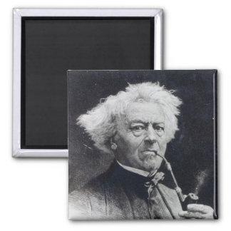 Jean-Baptiste Camille Corot Square Magnet