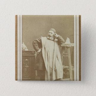 Jean-Baptiste Carpeaux 15 Cm Square Badge
