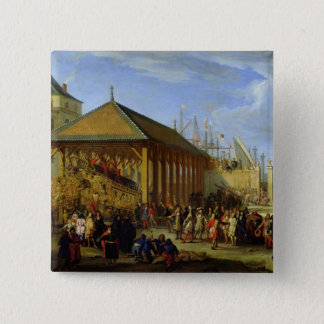 Jean-Baptiste Colbert  Marquis de Seignelay 15 Cm Square Badge