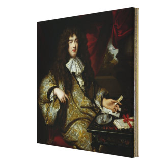 Jean-Baptiste Colbert  Marquis de Seignelay Canvas Print