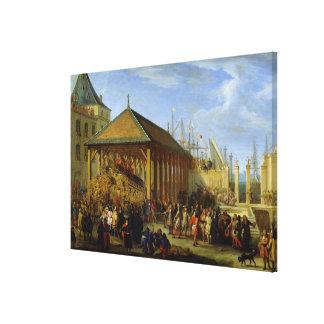 Jean-Baptiste Colbert  Marquis de Seignelay Canvas Prints