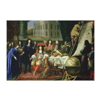 Jean-Baptiste Colbert  Presenting Royal Canvas Print