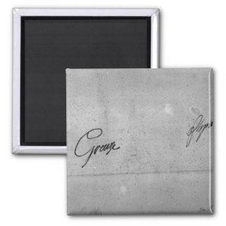 Jean-Baptiste Greuze's signature Magnet