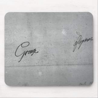 Jean-Baptiste Greuze's signature Mouse Mat