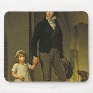 Jean-Baptiste Isabey  and his Daughter Mouse Mat