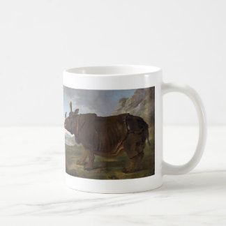 Jean-Baptiste Oudry: Clara the Rhinoceros Coffee Mug
