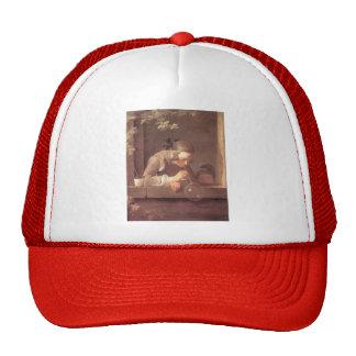 Jean-Baptiste-Simeon Chardin- Soap Bubbles Trucker Hat