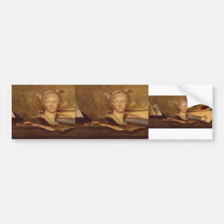 Jean-Baptiste-Simeon Chardin- Still life Bumper Sticker