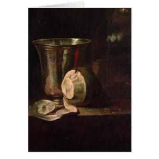 Jean-Baptiste-Simeon Chardin - Still life Greeting Card