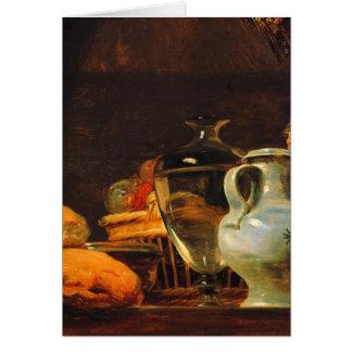 Jean-Baptiste-Simeon Chardin - Still life Greeting Cards