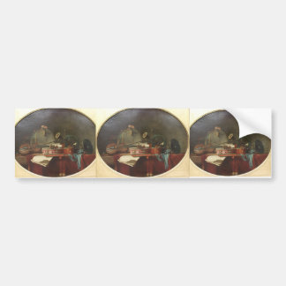 Jean-Baptiste - The instruments of music calendar Bumper Sticker