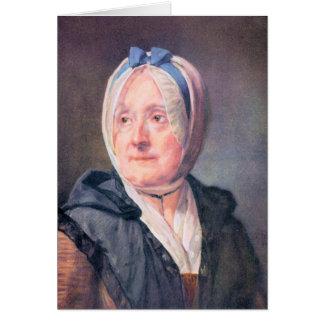 Jean Chardin - Portrait of Mrs Chardin Cards