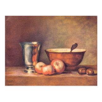 Jean Chardin - The silver cup Postcard