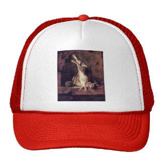 Jean Chardin-Wild Rabbit,Game Bag & Powder Flask Trucker Hat