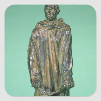 Jean d'Aire, from the Burghers of Calais (bronze) Square Sticker