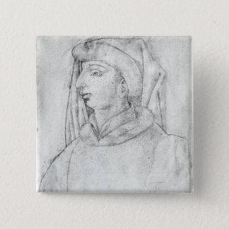 Jean de France, Duke of Touraine 15 Cm Square Badge