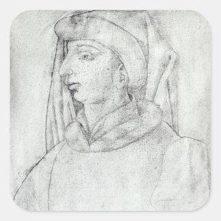 Jean de France, Duke of Touraine Square Sticker