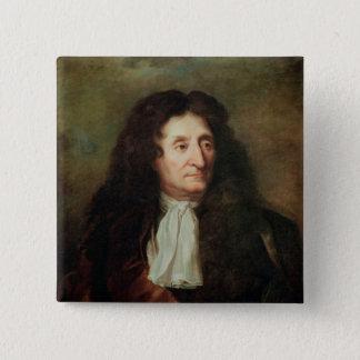 Jean de la Fontaine 15 Cm Square Badge