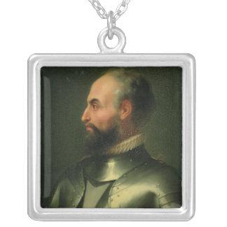 Jean de la Valette Silver Plated Necklace