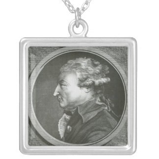 Jean Denis Antoine  architect Silver Plated Necklace