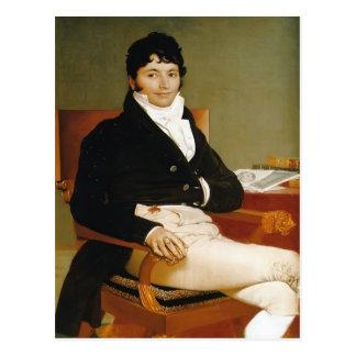 Jean Dominique Ingres-Portrait of Monsieur Rivière Postcard