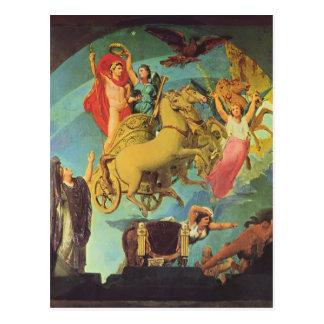 Jean Dominique Ingres-The Apotheosis of Napoleon I Postcard