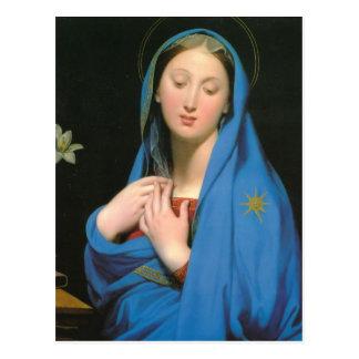 Jean Dominique Ingres- Virgin of the Adoption Postcards