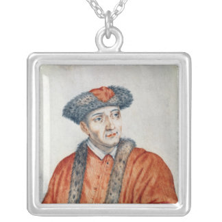 Jean d'Orleans  Count of Dunois Silver Plated Necklace