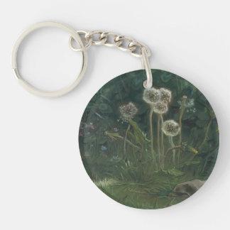 Jean-Francois Millet- Dandelions Acrylic Key Chains
