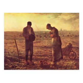 Jean-Francois Millet- The Angelus Postcard