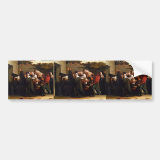 Jean-Francois Millet- The Nun's Parrot Bumper Sticker