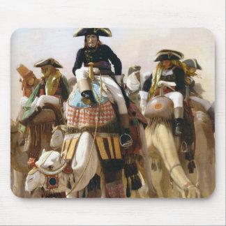 Jean Gerome-General Bonaparte his Military Staff Mousepads