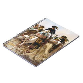 Jean Gerome-General Bonaparte & his Military Staff Spiral Note Books
