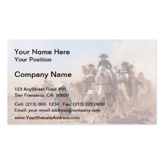 Jean Gerome-General Bonaparte & his Military Staff Pack Of Standard Business Cards