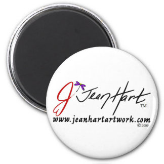 jean hart final, trade mark, Copyright 2009 6 Cm Round Magnet