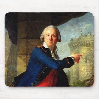 Jean-Henri  Chevalier de Latude, 1789 Mouse Pad