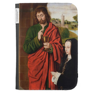 Jean Hey- Anne of France presented by St. John Kindle Folio Cases