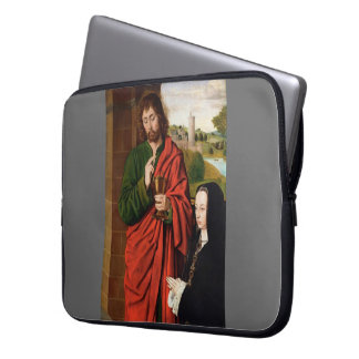 Jean Hey- Anne of France presented by St. John Laptop Sleeves