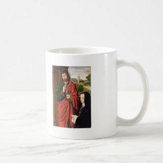 Jean Hey- Anne of France presented by St. John Basic White Mug