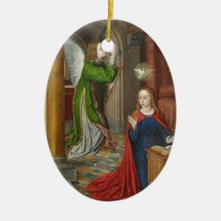 Jean Hey Annunciation Christmas Ornament