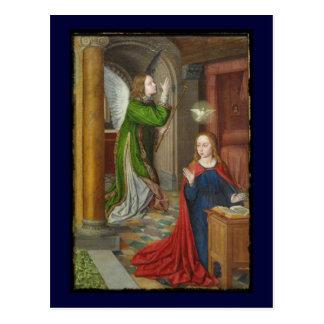 Jean Hey Annunciation Postcard