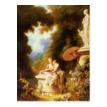 Jean-Honoré Fragonard Fine Art Postcard