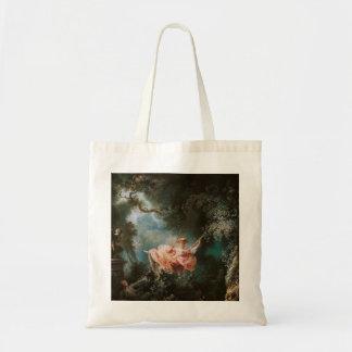 Jean-Honoré Fragonard s The Swing Canvas Bags