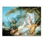 Jean-Honore Fragonard- The Shepherdess